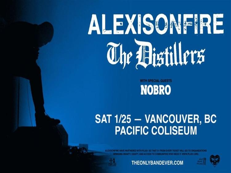 Photo zu (25.01.2020) ALEXISONFIRE, THE DISTILLERS, NOBRO - Vancouver, BC - Pacific Coliseum
