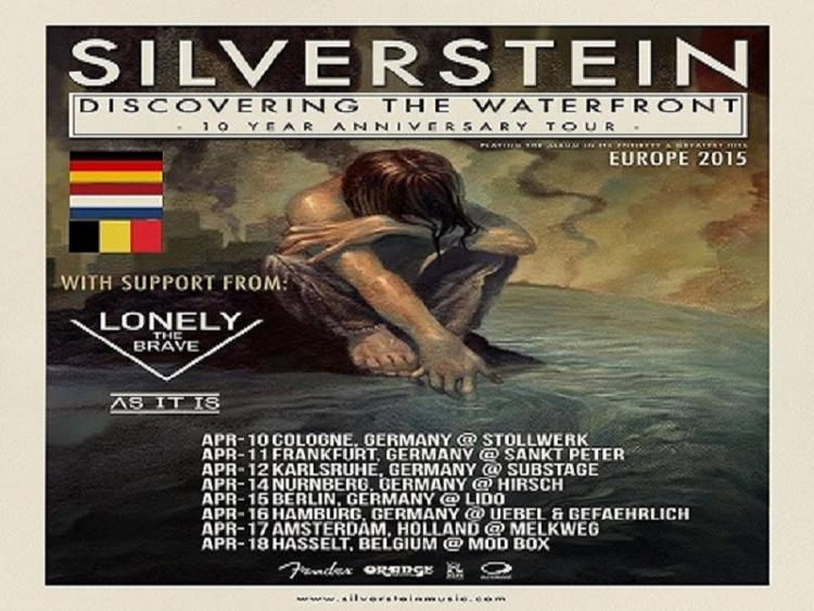Photo zu 10.04.2015: Silverstein, Lonely The Brave, As It Is - Köln - Bürgerhaus Stollwerck