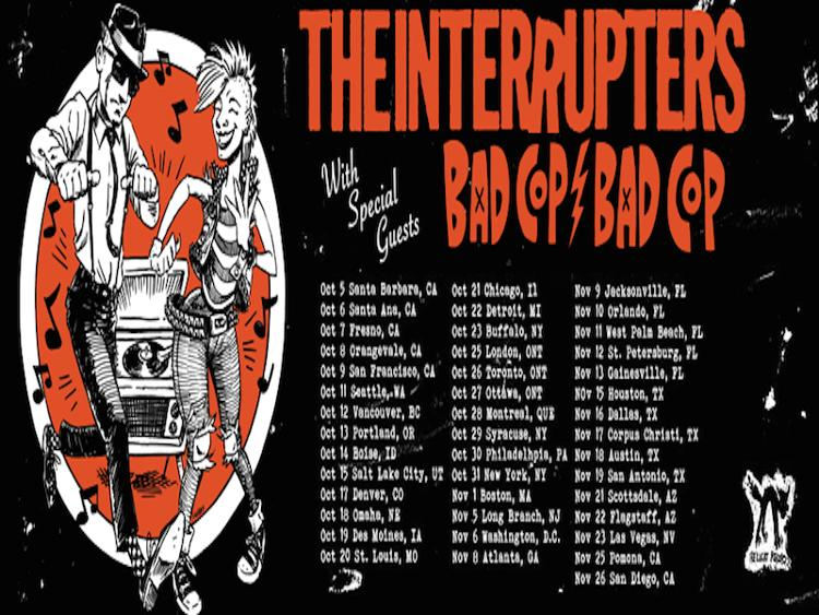 Photo zu 12.10.2016: THE INTERRUPTERS, BAD COP BAD COP, BRASS ACTION - Vancouver, BC - Rickshaw Theatre