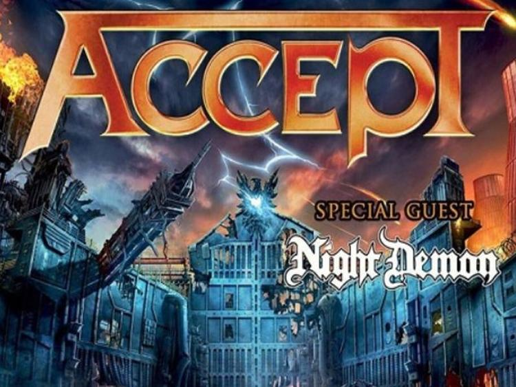 Photo zu 13.01.2018: ACCEPT, NIGHT DEMON - Filderstadt - Filharmonie