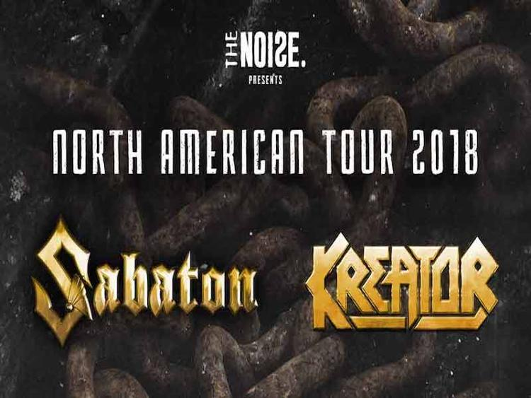 Photo zu 14.02.2018: SABATON, KREATOR, CYHRA - The Vogue Theatre - Vancouver