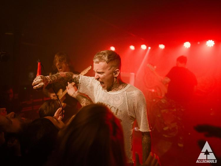 Photo zu 16.03.2018: FRANK CARTER & THE RATTLESNAKES, DEMOB HAPPY, WOES - Hamburg - headCRASH
