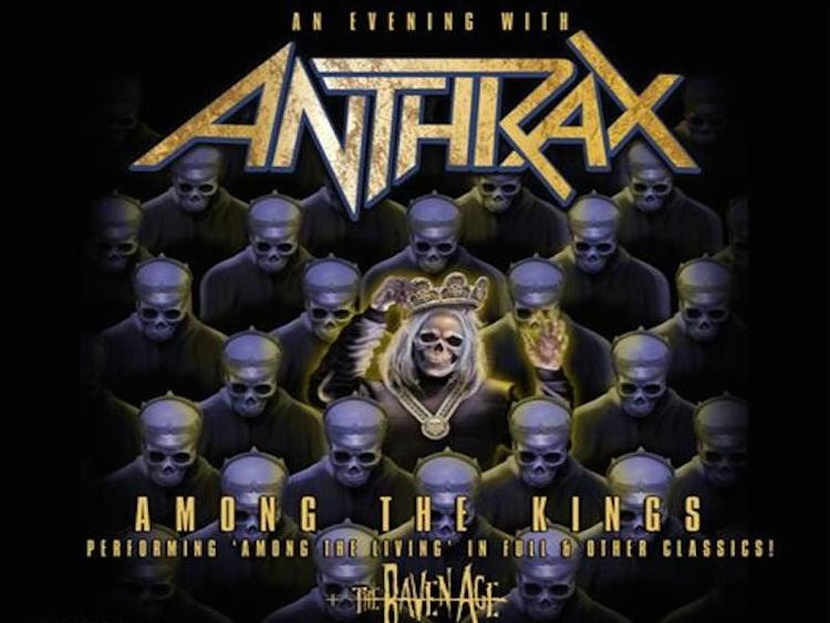 Photo zu 21.02.2017: ANTHRAX, THE RAVEN AGE - Oberhausen - Turbinenhalle