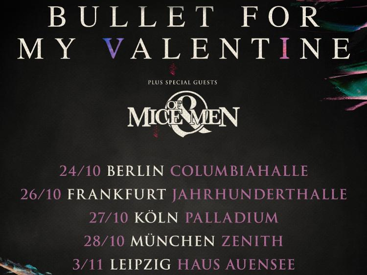 Photo zu 24.10.2018: BULLET FOR MY VALENTINE, OF MICE & MEN, NOTHING MORE, SHVPES - Berlin - Columbiahalle