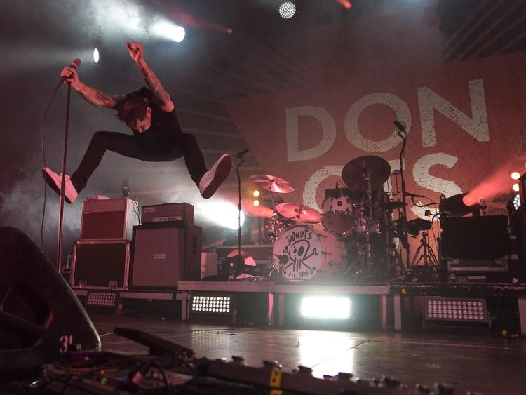 Photo zu 26.04.2019: DONOTS, ANTI-FLAG, ITCHY - Berlin - Columbiahalle