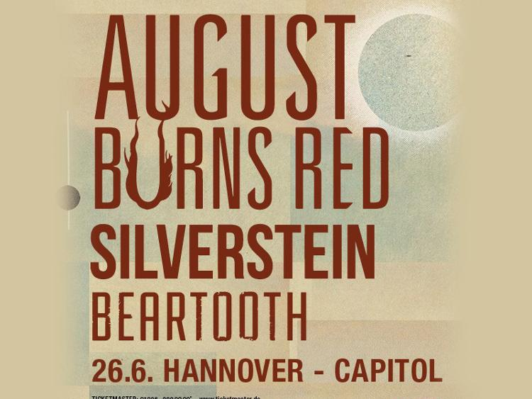 Photo zu 26.06.2016: AUGUST BURNS RED, SILVERSTEIN, BEARTOOTH - Hannover - Capitol