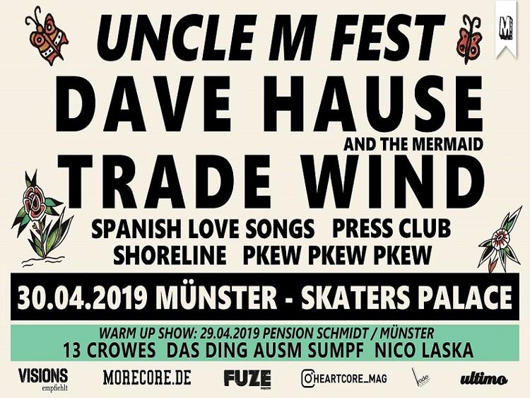 Photo zu 30.04.2019: UNCLE M FESTIVAL 2019 - Münster - Skater's Palace