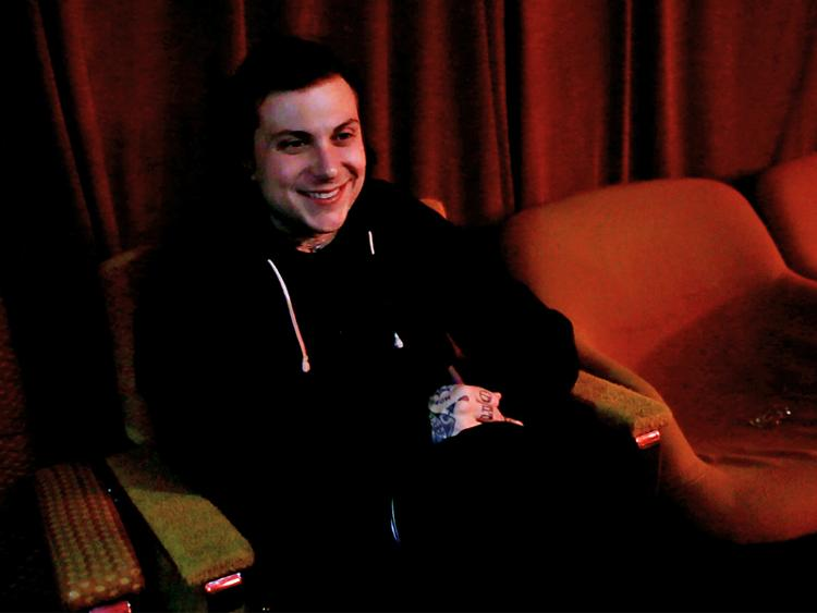 Photo zu Interview mit Frank Iero von FRANK IERO AND THE PATIENCE