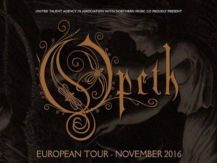 Photo zu Live Bericht: 12.11.2016 - Opeth, Sagh - München - Theaterfabrik