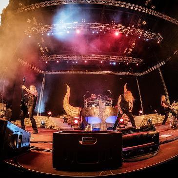 AMON AMARH - JOMSVIKING TOUR - LUDWIGSBURG - MHP ARENA (18.11.2016)