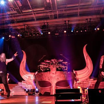 AMON AMARTH - Hamburg - Sporthalle (29.10.2016)