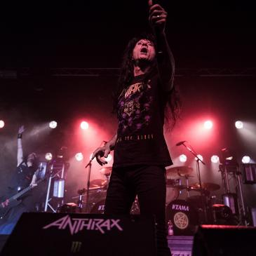ANTHRAX - Hamburg - Docks (07.03.2017)