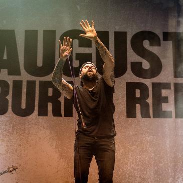 AUGUST BURNS RED – STUTTGART – SCHLEYERHALLE (17.03.2018)