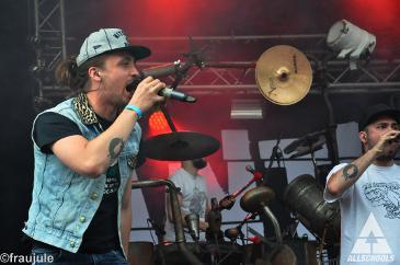 Antilopen Gang - Müssen Alle Mit Festival - Stade - Bürgerpark (11.07.2015)