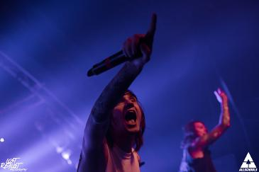 Asking Alexandria - Hamburg - Markthalle (16.10.2015)