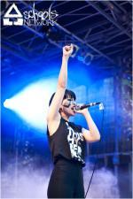 Atarie Teenage Riot - Frankfurt am Main - AStA Sommerfest (06.07.2012)