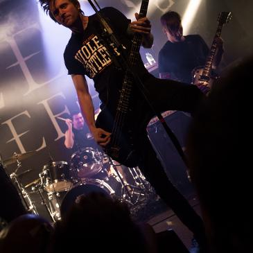 BLESSTHEFALL - Progression Tour - Hamburg - Knust (30.04.2016)