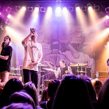 BLOOD YOUTH - Hamburg - Knust (20.10.2017)