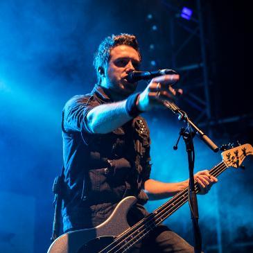 BULLET FOR MY VALENTINE - Venom EU Tour - Bremen - Aladin (08.11.2015)