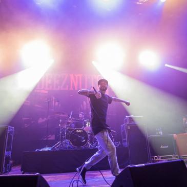 DEEZ NUTS - KNOCKDOWN FESTIVAL - KARLSRUHE - SCHWARZWALDHALLE (20.12.2015)