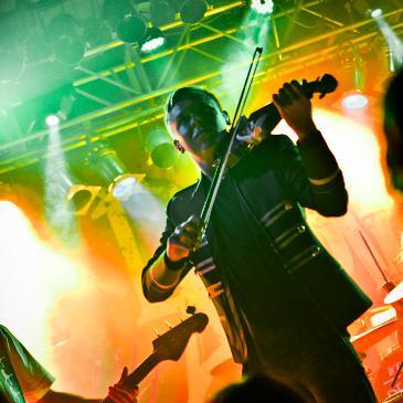 DISCLARITY und SIAMESE - München - Backstage (11.09.2017)