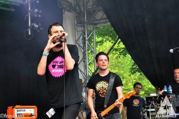 Egotronic - Müssen Alle Mit Festival - Stade - Bürgerpark (11.07.2015)