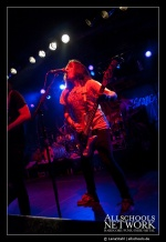 Escape the Fate - Give it a Name Festival - München - Backstage (12.04.2009)