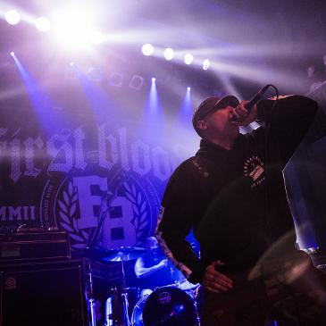 FIRST BLOOD - Hamburg - Gruenspan (17.02.2017)