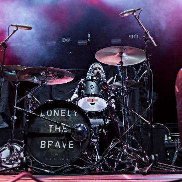 LONELY THE BRAVE - Berlin - Max-Schmeling-Halle (24.10.2016)