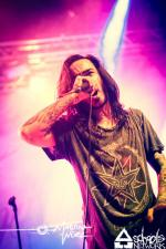 Like Moths To Flames - Würzburg - Posthalle (07.11.2013)