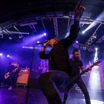 MEMPHIS MAY FIRE - Hamburg - Markthalle (22.11.2016)