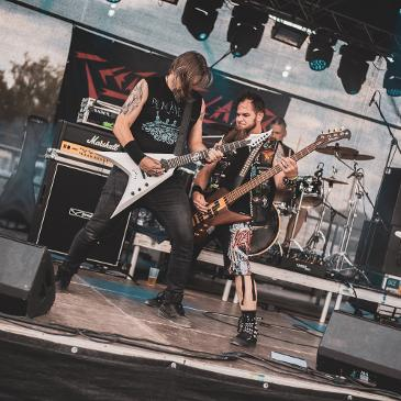 METAL UNITED FESTIVAL - REGENSBURG - AIRPORT EVENTHALL OBERTRAUBLING (02.08.2019)