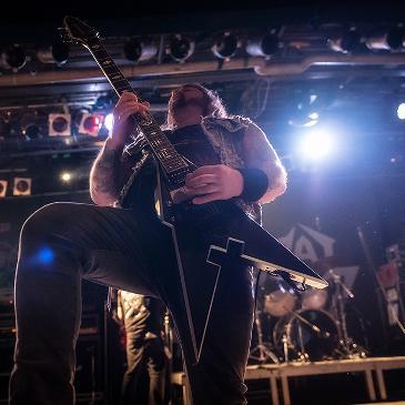 MUNICIPAL WASTE - PERSISTENCE TOUR - MÜNCHEN - BACKSTAGE (25.01.2017)