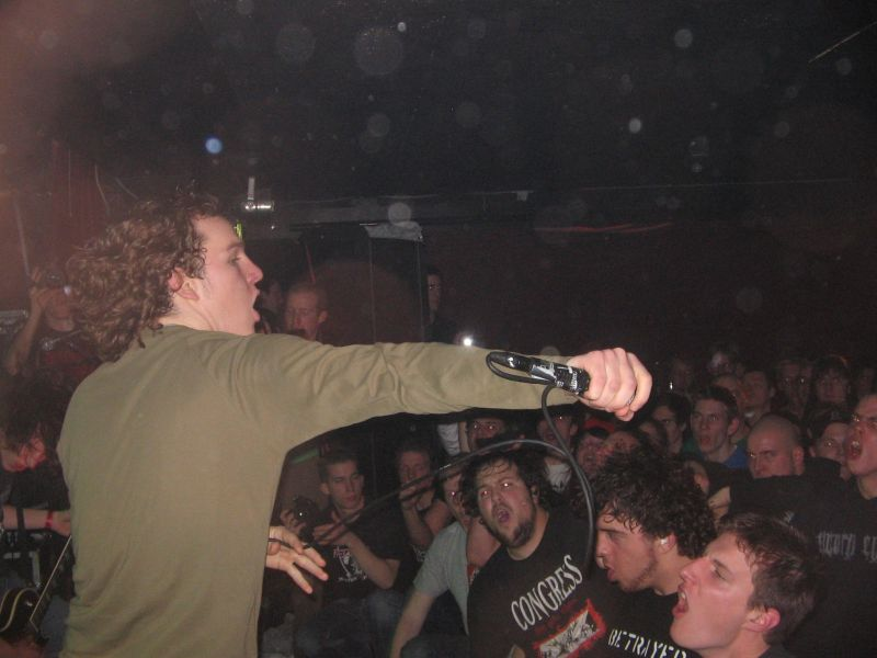 Photo zu 28.01.2006: Terror, Rise And Fall, Modern Life is War, Blacklisted, No Turning Back - Hengelo - Reflections Fest Part I