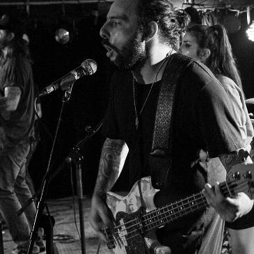 SAM ALONE & THE GRAVEDIGGERS - Hannover - Lux (05.07.2017)