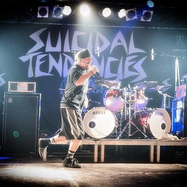 SUICIDAL TENDENCIES - PERSISTENCE TOUR - MÜNCHEN - BACKSTAGE (25.01.2017)