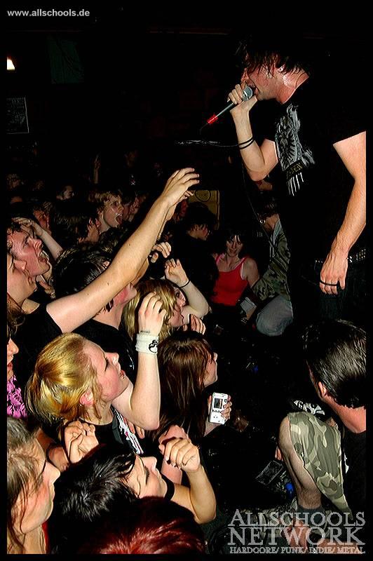 Photo zu 05.06.2007: Silverstein, Today Forever , Afire - Münster - Tryptichon