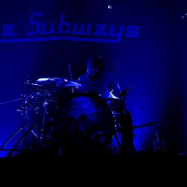 THE SUBWAYS – GOOD TIMES TOUR - ULM - ROXY (01.12.2015)