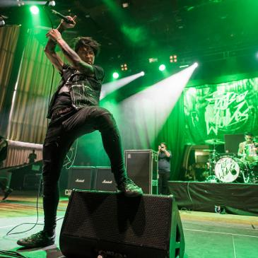 TO THE RATS AND WOLVES - KNOCKDOWN FESTIVAL - KARLSRUHE - SCHWARZWALDHALLE (20.12.2015)