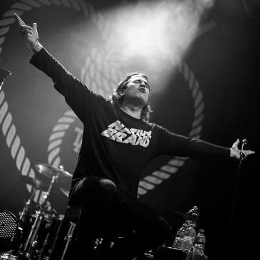 The Amity Affliction, Never Say Die Tour - Oberhausen - Turbinenhalle 2 (27.11.2015)