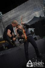 The Carburetors - Stukenbrock - Serengeti Festival (20.07.2012)