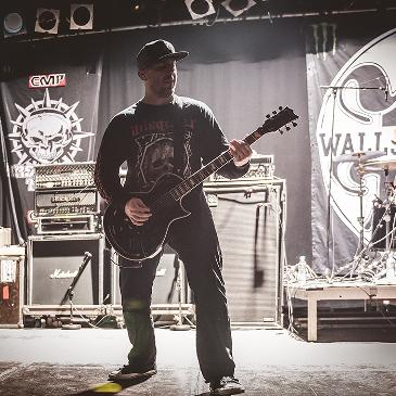 WALLS OF JERICHO - PERSISTENCE TOUR - MÜNCHEN - BACKSTAGE (25.01.2017)