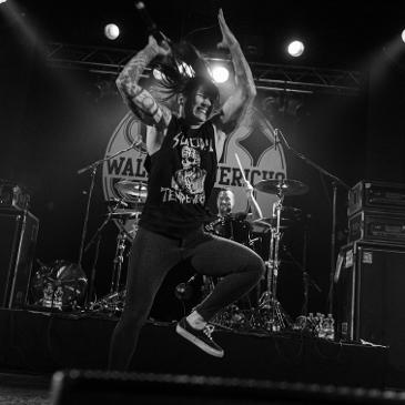 WALLS OF JERICHO / Persistence Tour - Hamburg - Große Freiheit 36 (23.01.2017)