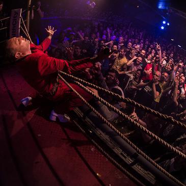 Weird Wrestling Circus (Hotel Gewalt) - Köln - Club Bahnhof Ehrenfeld - 24.10.2015