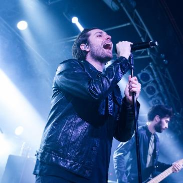 YOU ME AT SIX - Hamburg - Markthalle (26.03.2017)