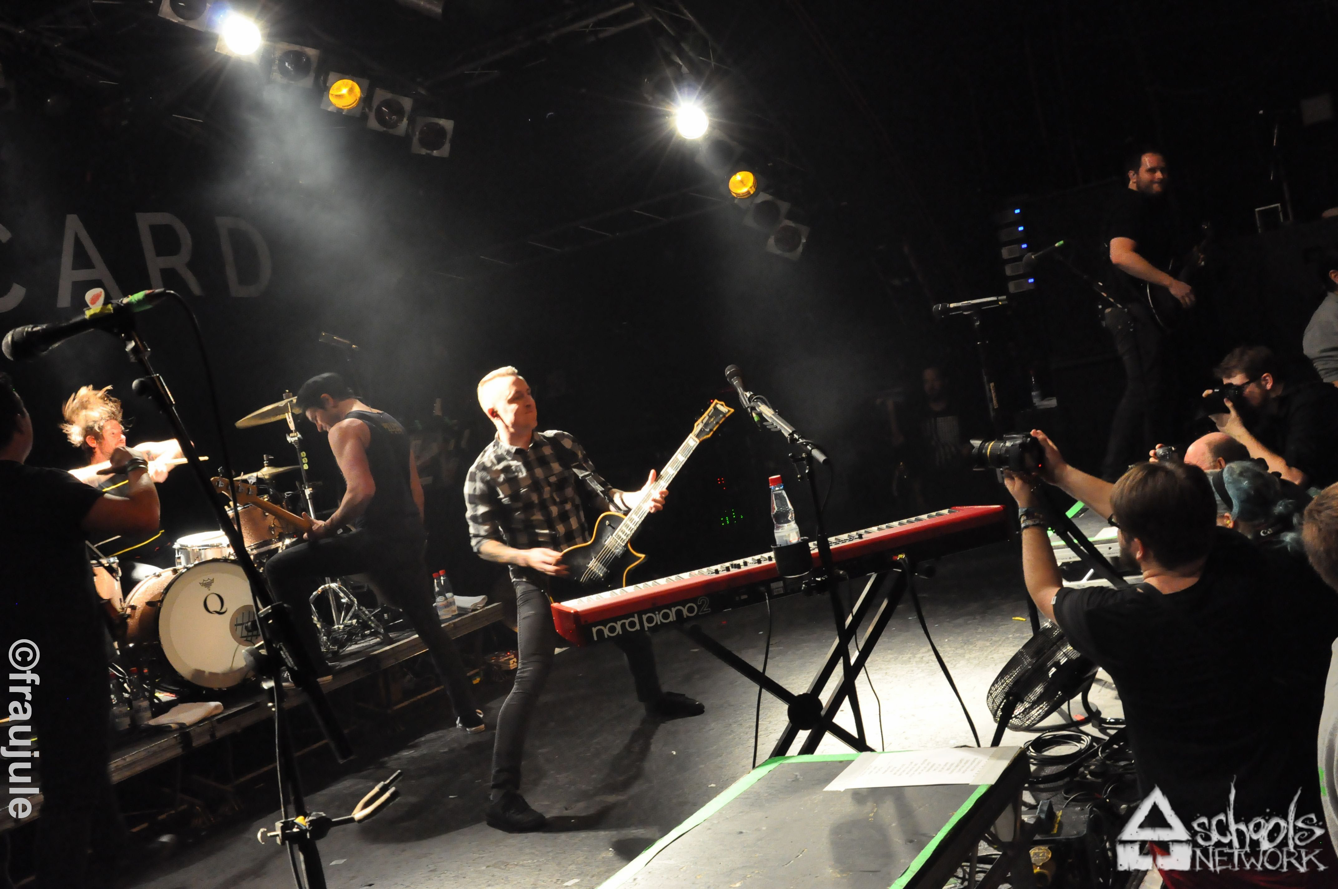 Photo zu 21.03.2015: Yellowcard, Less Than Jake, Chunk! No, Captain Chunk! - Hamburg - Markthalle