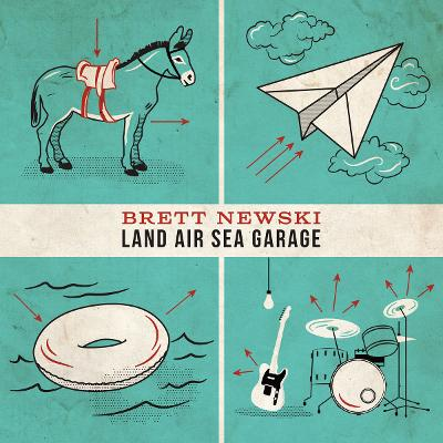 BRETT NEWKSI - Land Air Sea Garage