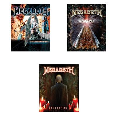 MEGADETH - United Abominations/Endgame/TH1RT3EN (Reissue)