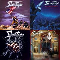"Savatage - ""Power Of The Night"", ""Gutter Ballet"", ""Fight For The Rock"", ""Dead Winter Dead"""