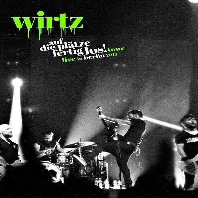 WIRTZ - Auf Die Plätze Fertig Los! Live In Berlin 2015 (1 DVD + 2 CDs)